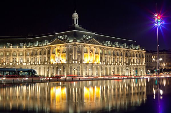 Bordeaux night