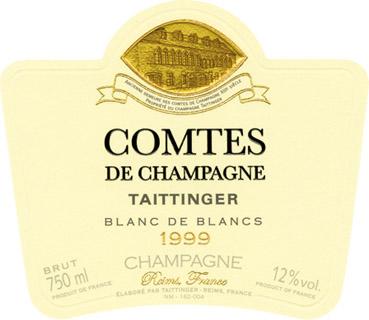 Taittinger_Comte Champagne_1999_l