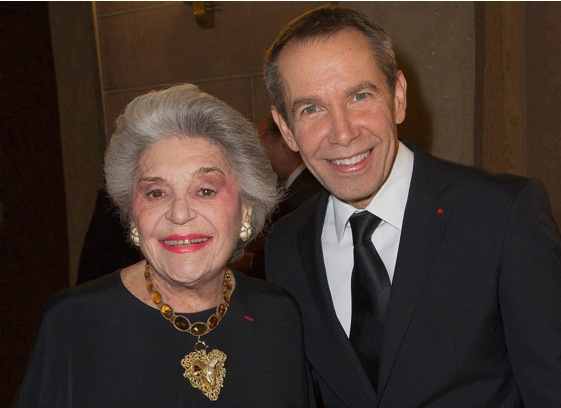 Jeff_Koons_and_Mme de Rothschild