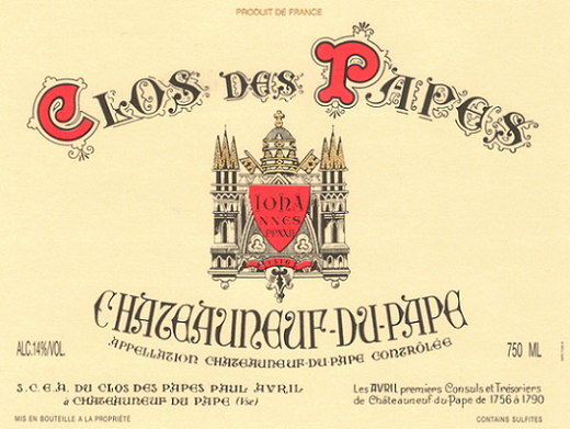 Clos_papes_label